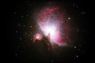 Messier 42 Red Shift